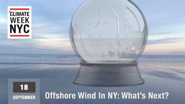 ℃limate Week 2017 Official Event — Prospects for offshore wind in the northeast