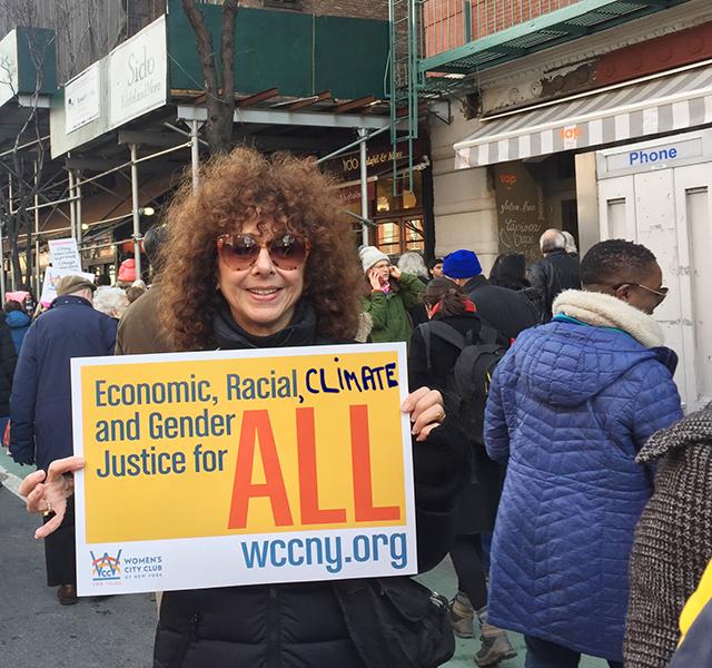 Nancy Resists With Myriad New Yorkers