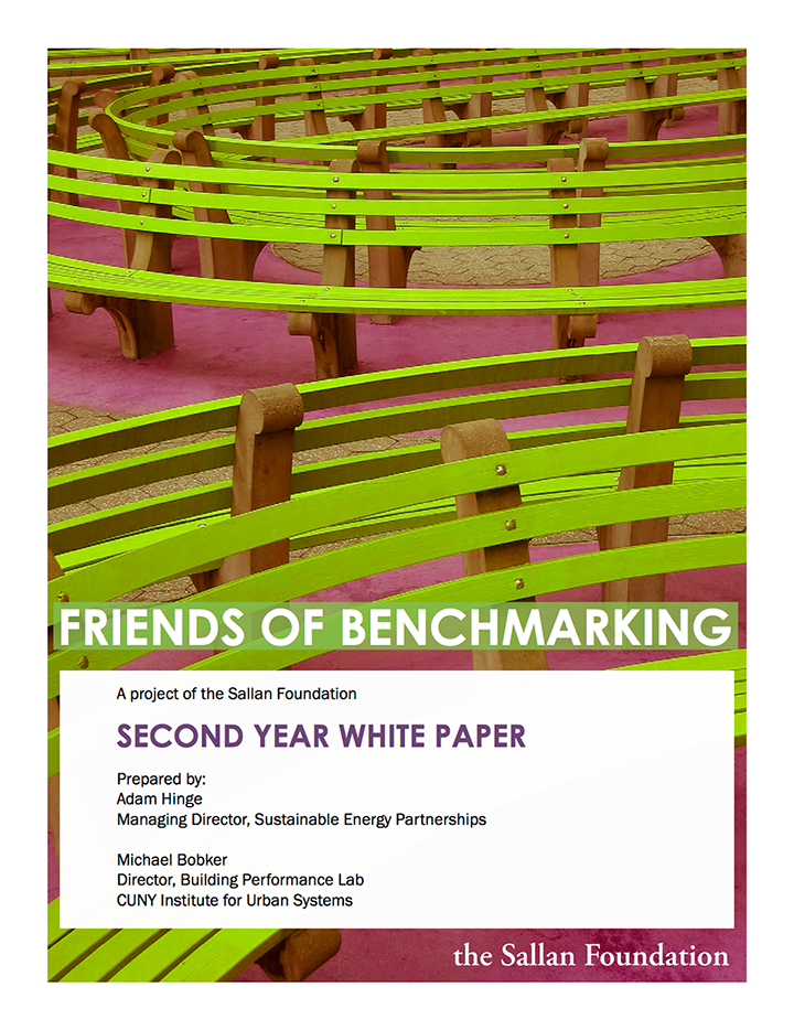 Friends of Benchmarking Second Year Whitepaper